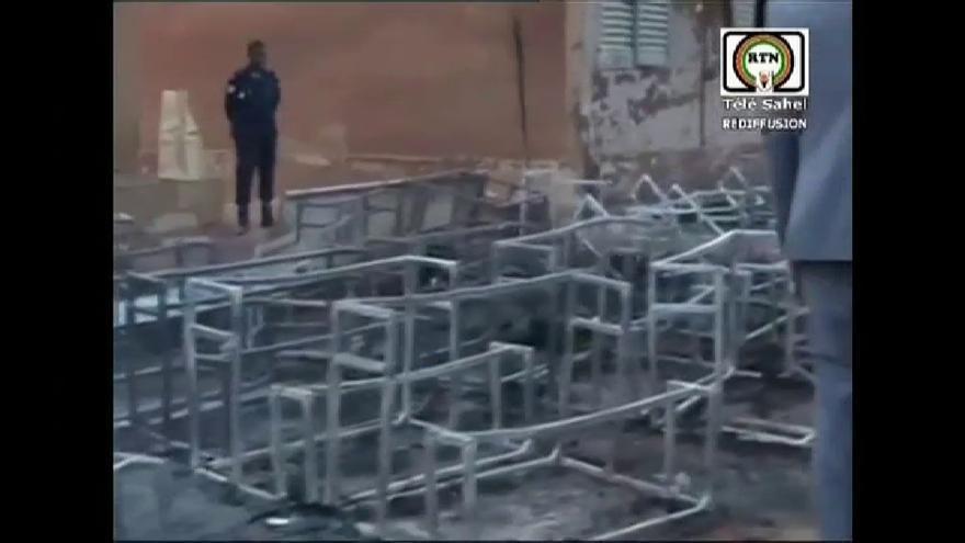 Al menos 20 niños muertos en un incendio en una escuela en la capital de Níger