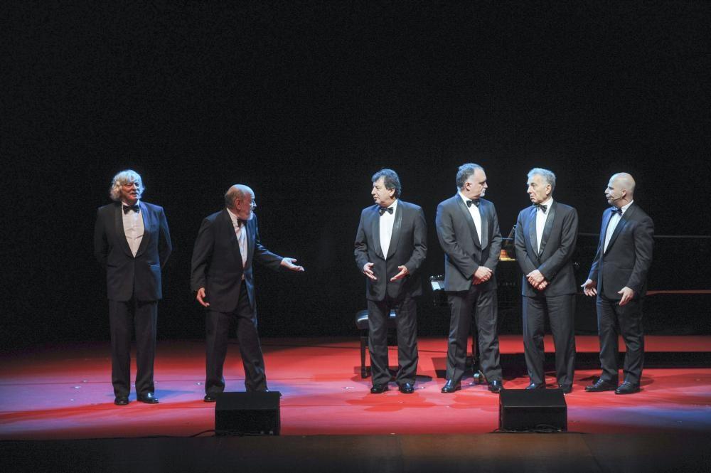 ''Viejos Hazmerreíres'' de Les Luthiers en A Coruña