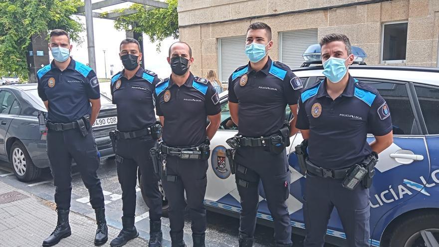 """El policía que dio los primeros auxilios a la niña en A Pedreira: """"Conseguí que arrojara agua y vómitos"""""""