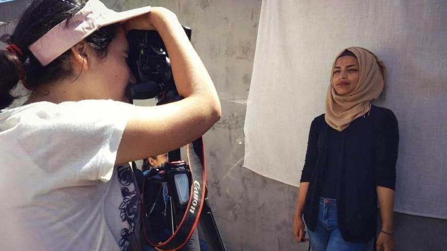 El dia a dia de joves refugiats, en una exposició a Figueres