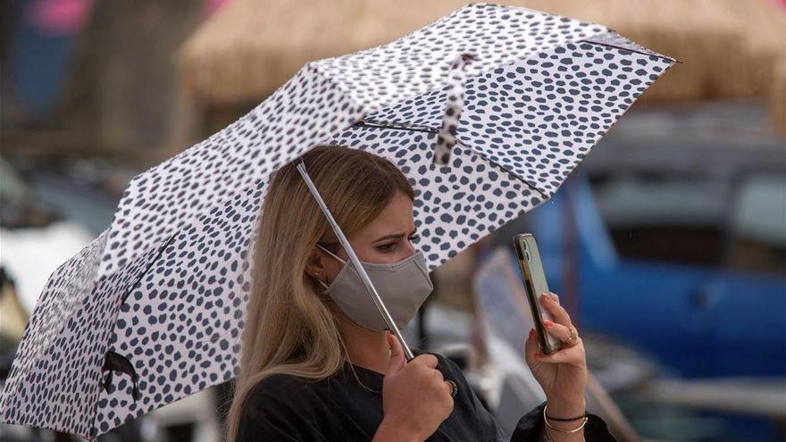 Las lluvias pueden llegar hoy a Baleares con fuertes tormentas