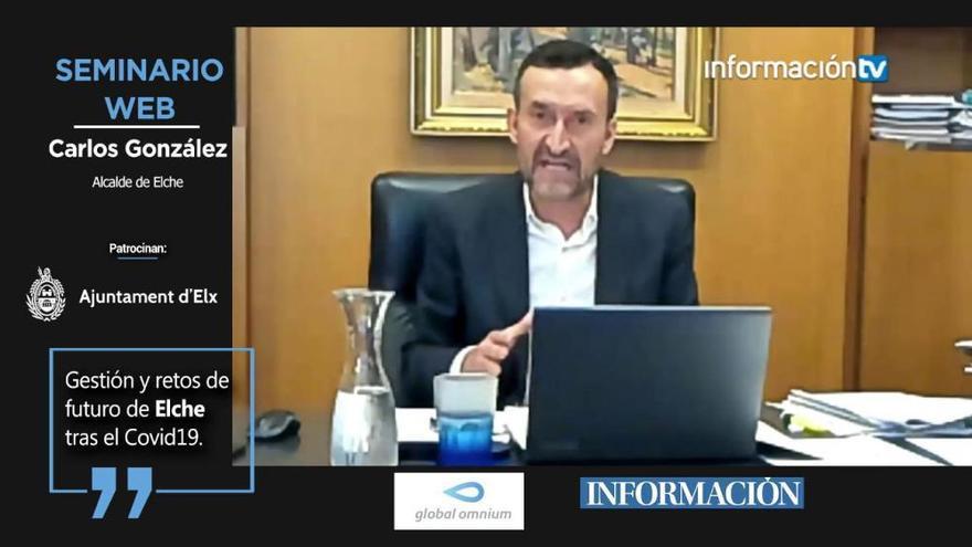 """Carlos González: """"Necesitamos inversión para hacer posible una recuperación rápida, sostenible y justa"""""""