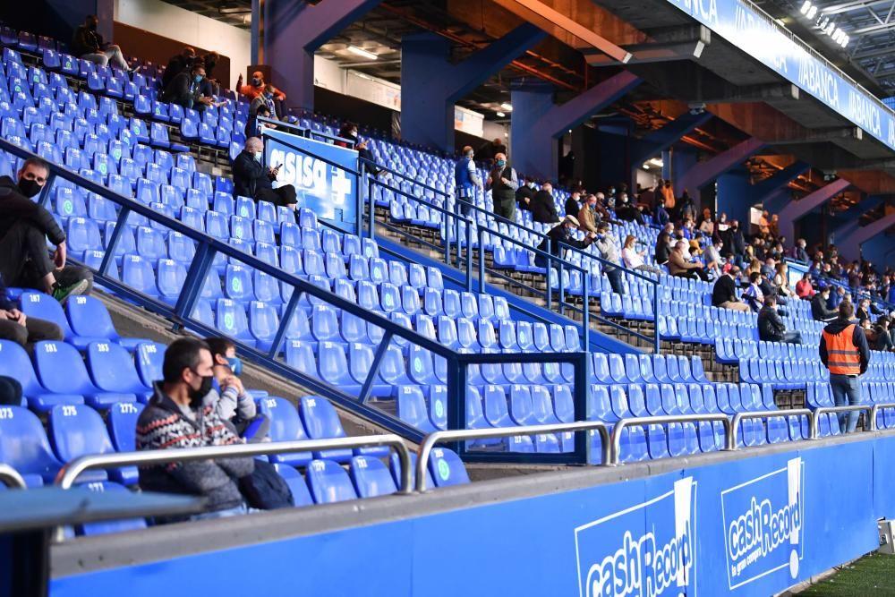 1º partido de la era Covid con público en Riazor