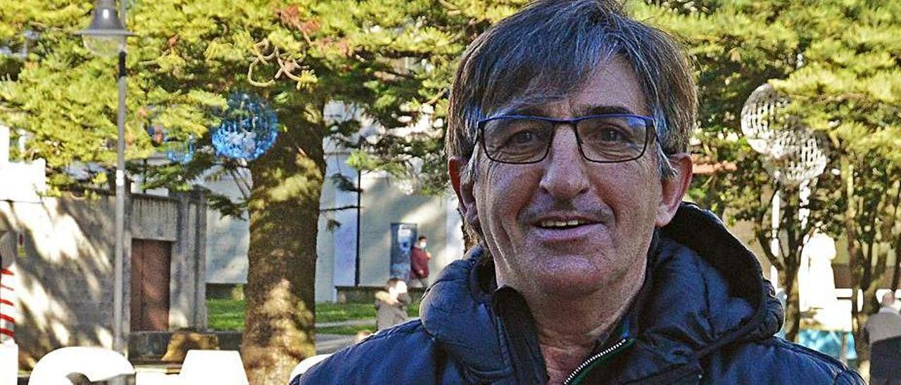 Alberto González tras ser elegido como presidente el Cangas. |  // G.N.