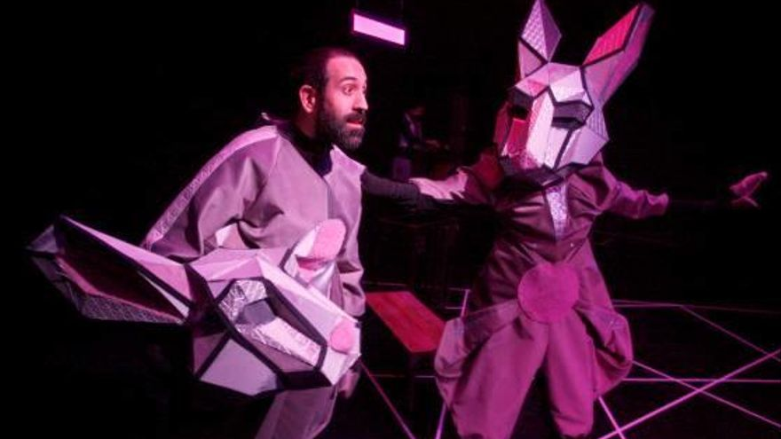 Teatre Pau Zabaleta estrena a la sala La Planeta «Fuga de conills»