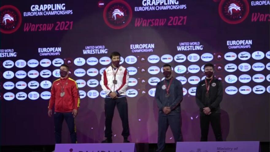 Dos murcianos suben al podio en el Europeo de grappling