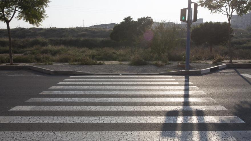 Un semáforo a ninguna parte