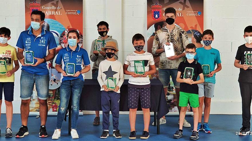 Roque Bouza gana el Torneo de Ajedrez de Verano de Carral