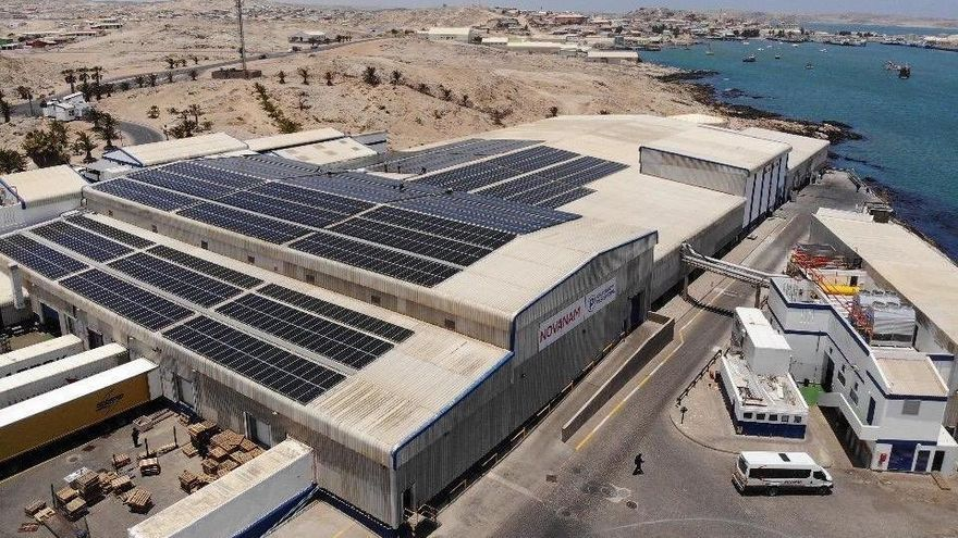 Namibia da marcha atrás y la planta de Nueva Pescanova en Lüderitz retoma la actividad