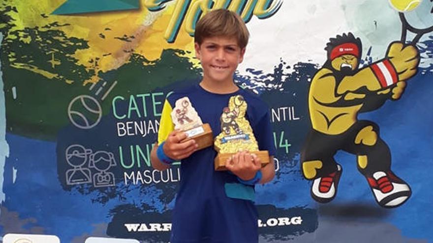 Álvaro Lago se proclama campeón benjamín del Máster TTK Warriors