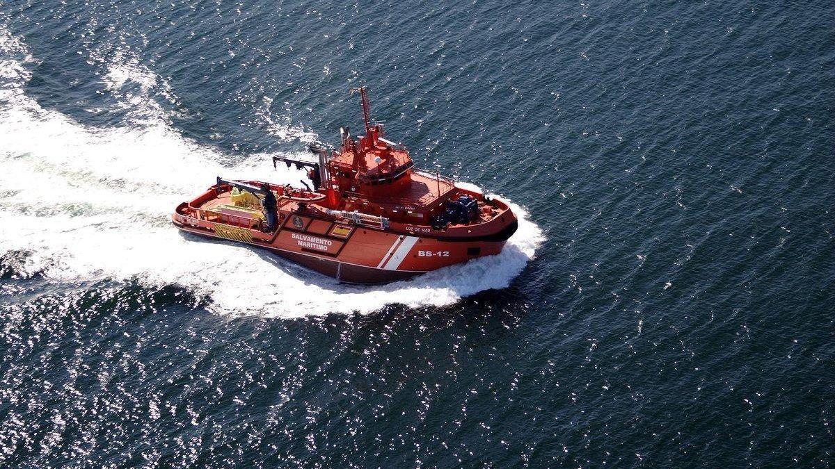 Barco de Salvamento Marítimo.