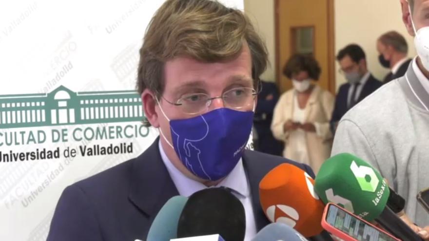 VÍDEO | Almeida alaba a Mañueco