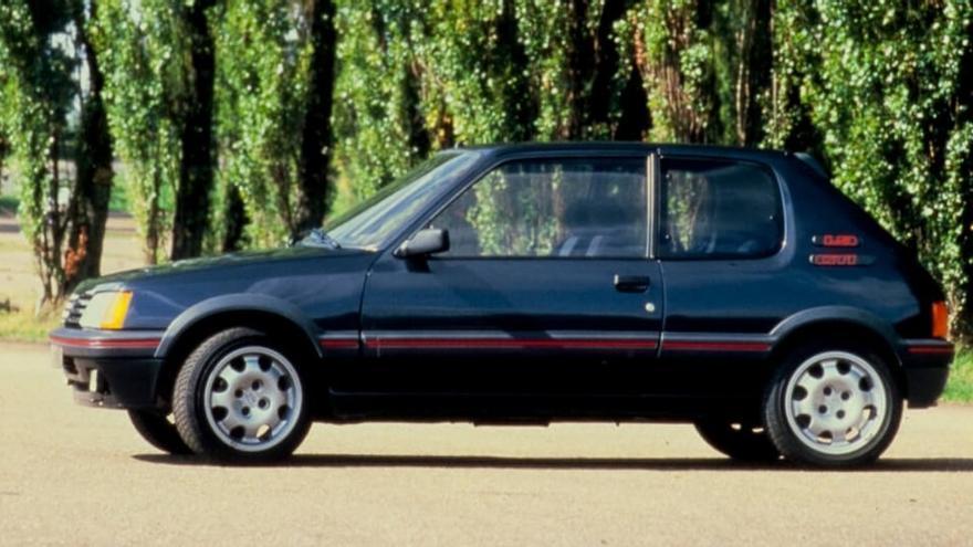 Peugeot 205 GTI Plus: la historia de una leyenda de los años 90
