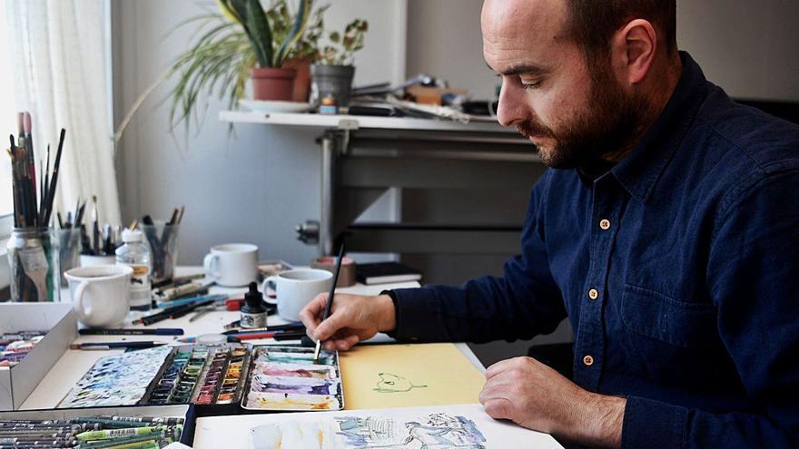 Ilustración artesana para colarse en los Óscar
