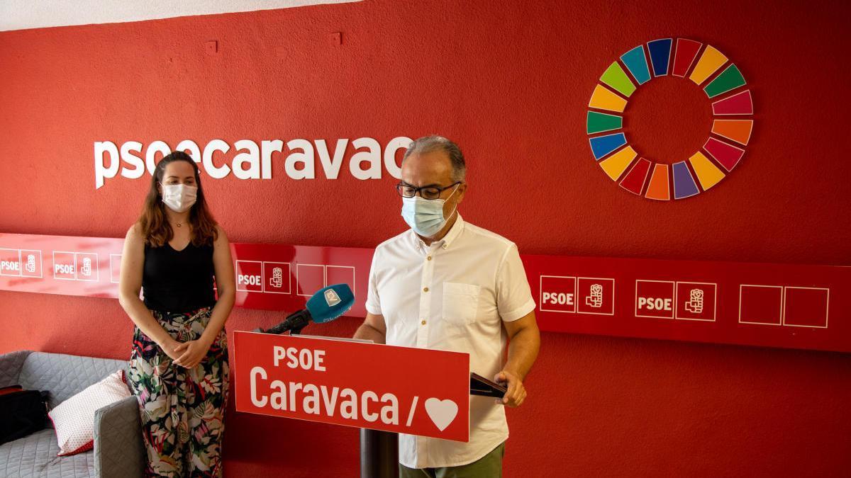 El PSOE en Caravaca pide estar en el comité de seguimiento de la COVID-19