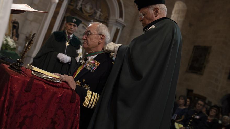 El nuevo Jemad, Teodoro López Calderón fue investido caballero cubiculario en Zamora