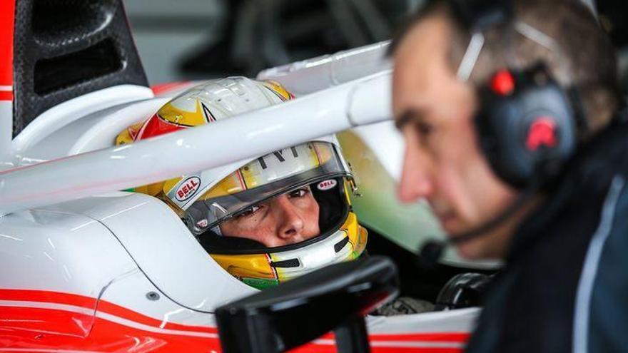 Merhi, lejos de los mejores en la sesión matinal del tercer día de test en Baréin