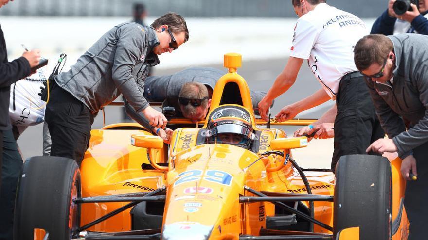 Se aplazan las 500 Millas de Indianápolis en las que correrá Fernando Alonso