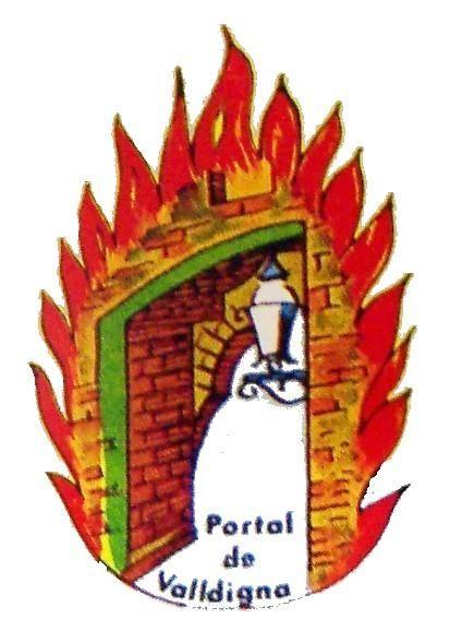 Portal de Valldigna-Salinas, con la emblemática puerta.