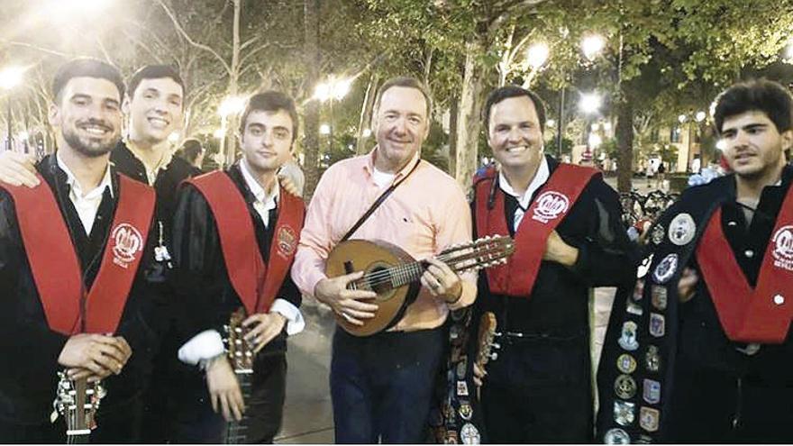 Kevin Spacey, un tuno en Sevilla