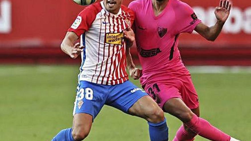 Unai Medina, lateral derecho con gol dos años después de Lora