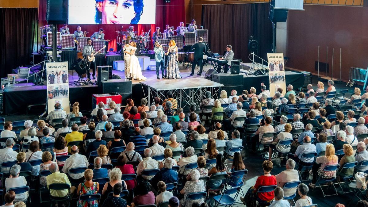 Un concert a la Festa Major d'Alp del 2029 al Palau de Congressos