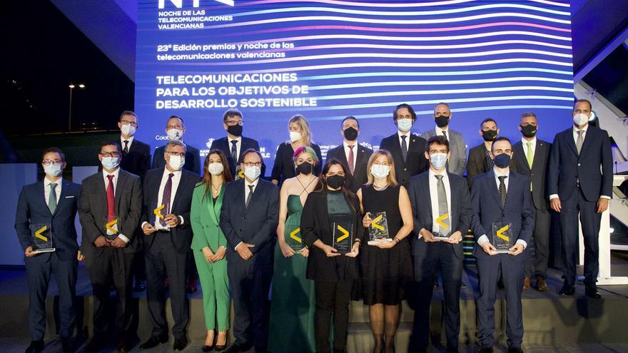 """Hidraqua recibe el premio """"Empresa Relevante"""" en la gala de las Telecomunicaciones Valencianas"""