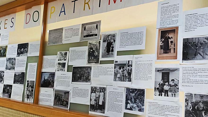 Alumnos del Terra de Turonio exponen su historia familiar en imágenes