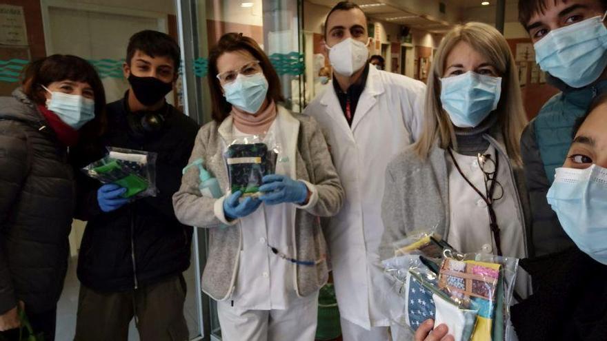 El reto solidario de los estudiantes del IES Pablo Gargallo, paso a paso