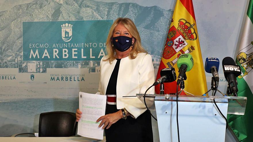 La alcaldesa de Marbella pide medir los datos de Covid con el censo real de población