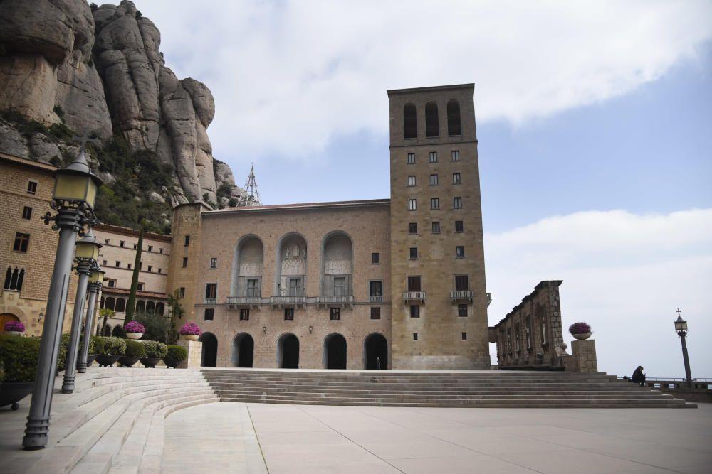 Ambient de Coronavirus a Montserrat  el 14 de març del 2020