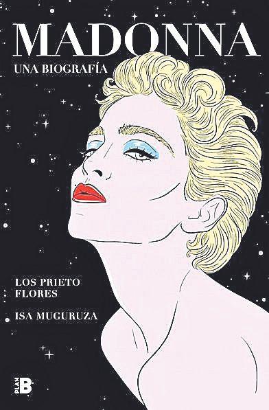 Una de las ilustraciones de 'Madonna. Una biografía'.