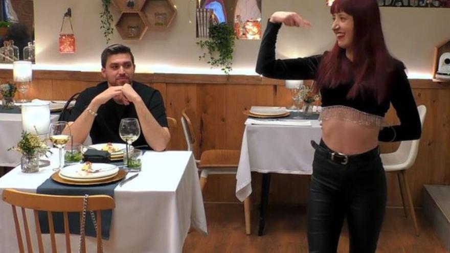 La participante de First Dates cuyo baile dejó con la boca abierta a todo el restaurante