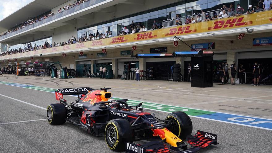 Así queda la parrilla de salida de F1 para el GP de Estados Unidos