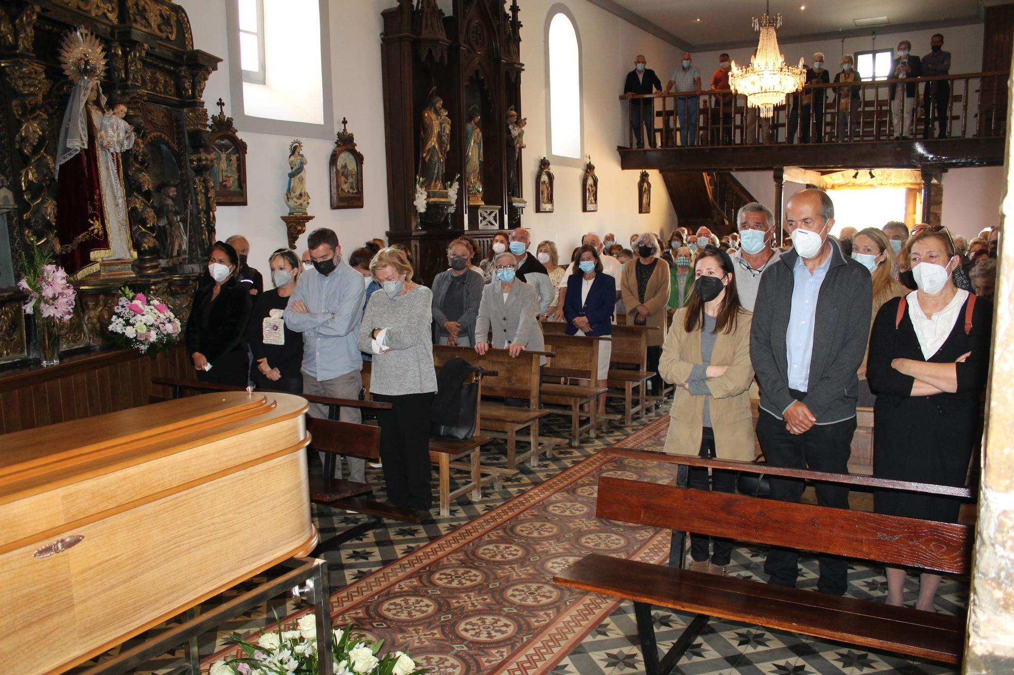 Entierro de Don Pío en Serantes