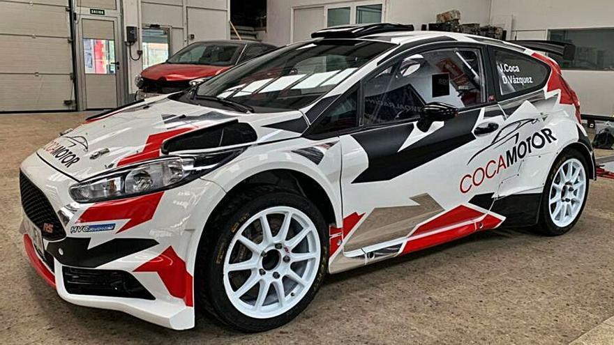 Benjamín Avella compra un Ford Fiesta R5  a Coca Motor y vende el Peugeot 2008 Rally4