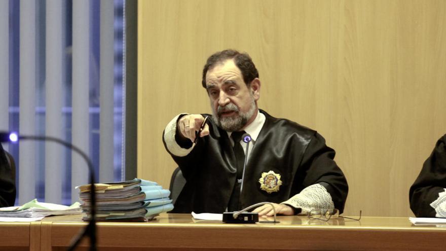 Fallece el magistrado Bernardo Donapetry, presidente de la sección octava de la Audiencia, en Gijón