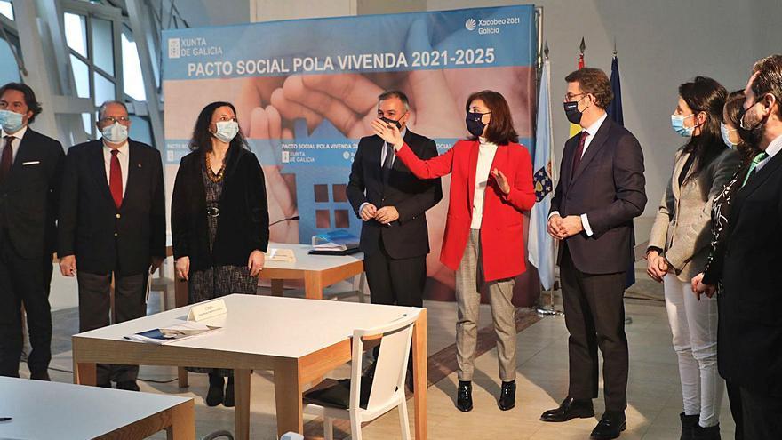 La Xunta lanza un plan de vivienda con 433 millones y aspira a llegar a 70.000 familias