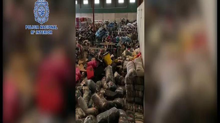 Detenidos en Fuente Álamo por explotar a inmigrantes a dos euros la hora en una empresa textil