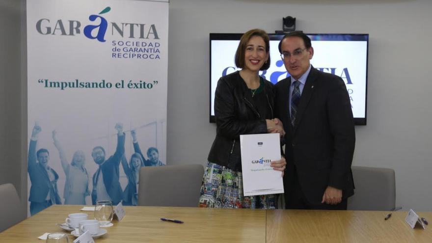 La CEM y Garántia SGR colaborarán para impulsar la financiación a las pymes