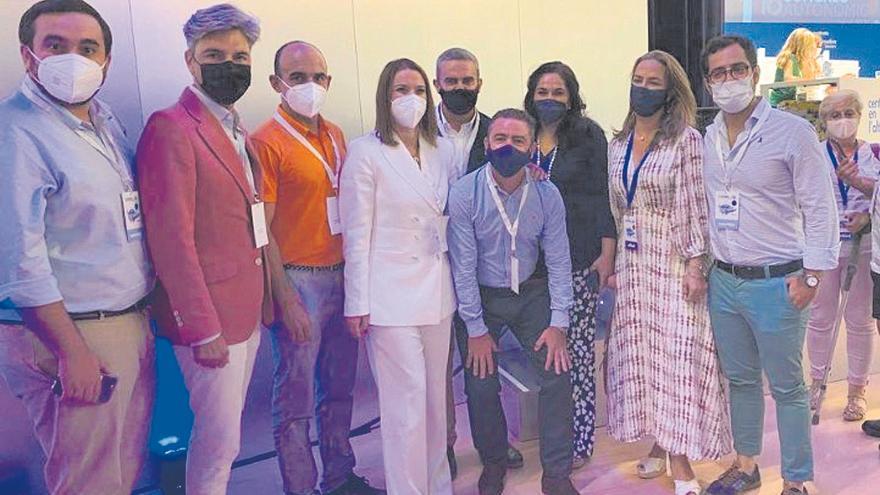 Trece diputados del PP cargan al Congreso su viaje a Palma para proclamar a Marga Prohens
