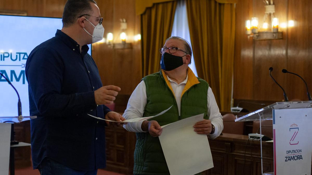 Jesús María Prada y Pepe Hernández