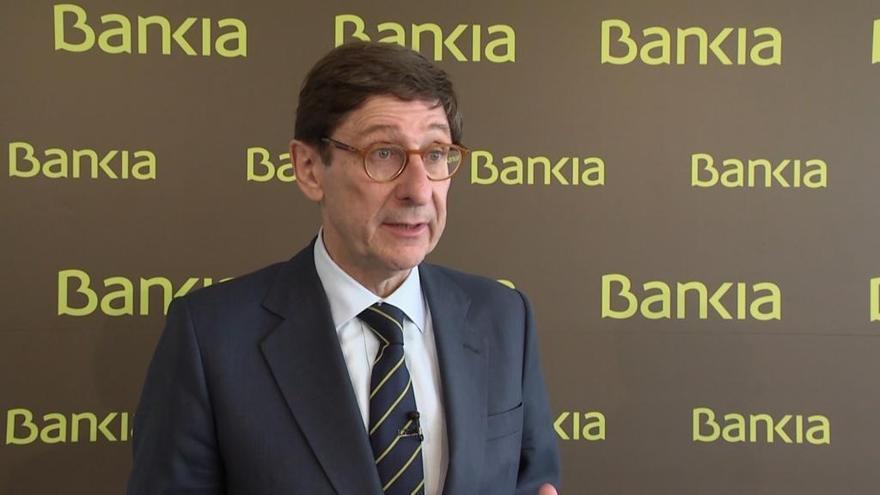 Bankia eleva en casi un 40 % los beneficios y los situa en 703 millones en 2018