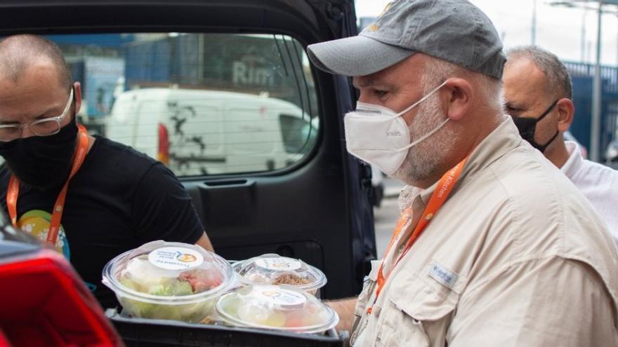 El chef español José Andrés viaja a Nueva Orleans para alimentar a las víctimas del huracán Ida