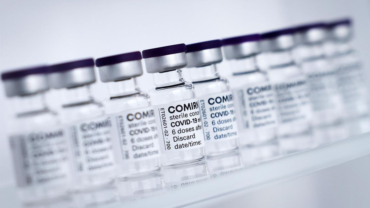 Dosis de la vacuna contra la Covid-19 del laboratorio Pfizer.