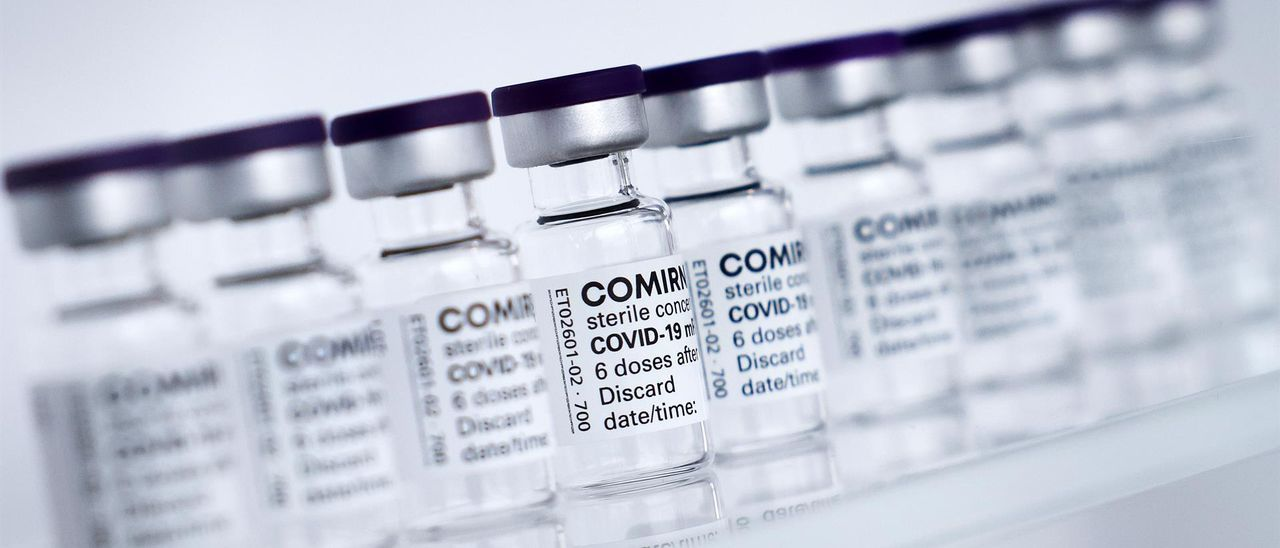 Dosis de la vacuna contra la Covid-19.