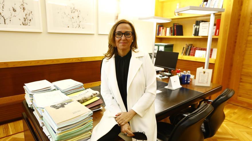 Mayte Pérez seguirá al frente de la secretaría general del PSOE de Teruel