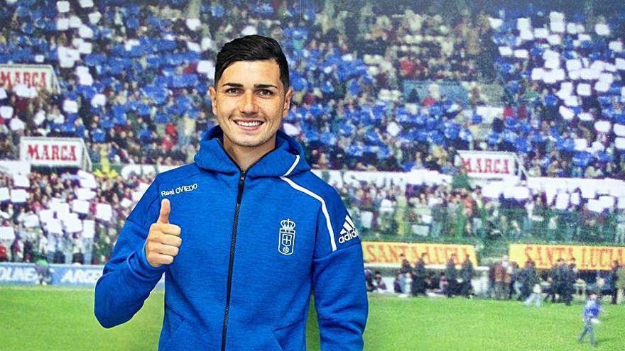 El Oviedo confirma el fichaje del delantero Rafael Mújica