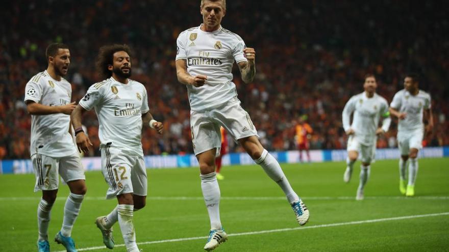 El Madrid de Zidane recupera el pulso en Estambul