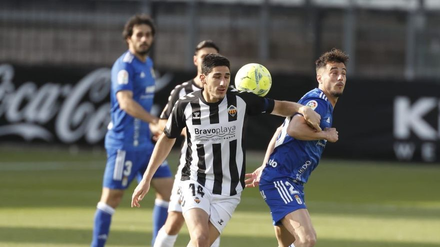 El Castellón da un paso al frente por la permanencia (1-0)